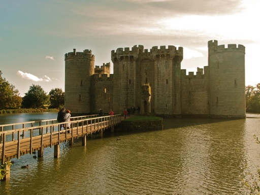 Bodiam Castle barbican