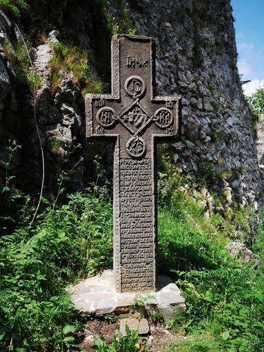 Bran Castle - Dracula cross