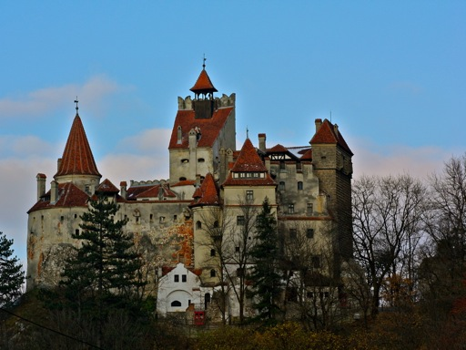 Bran Castle Close Up