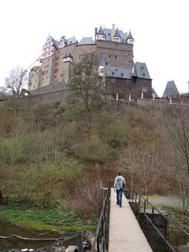 Bridge to Burg Eltz