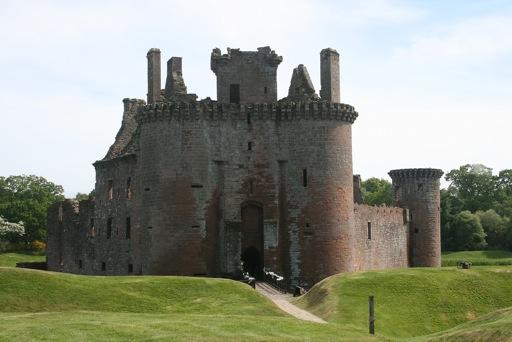 Caerlaverock Castle gatehouse