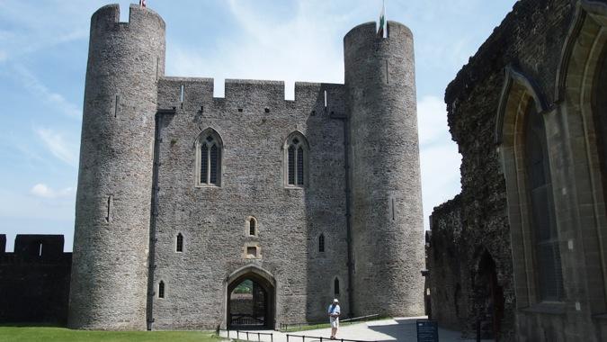 Caerphilly Castle Eastern gatehouse