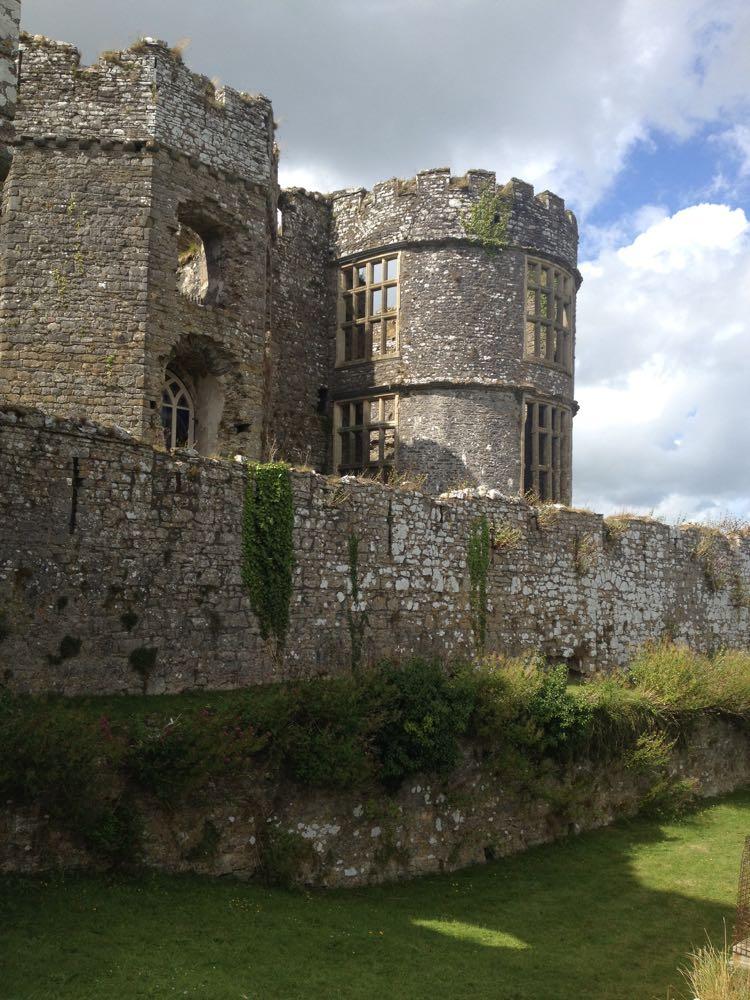 Carew Castle rooms