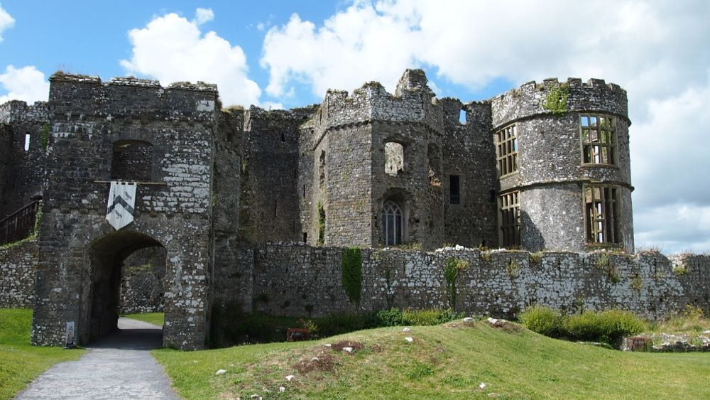 Carew Castle Gatehouse