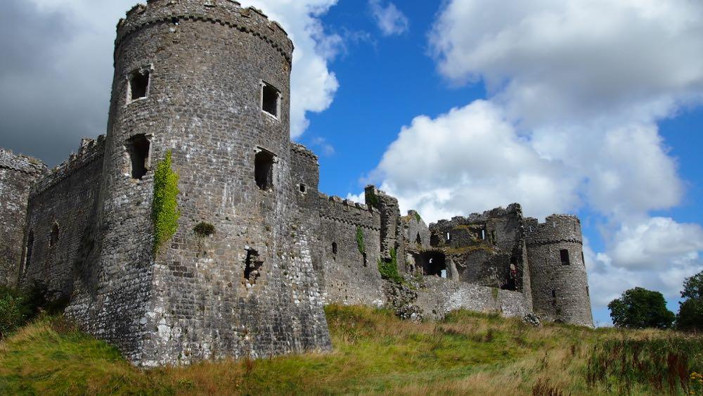 The Medieval aspect Carew Castle