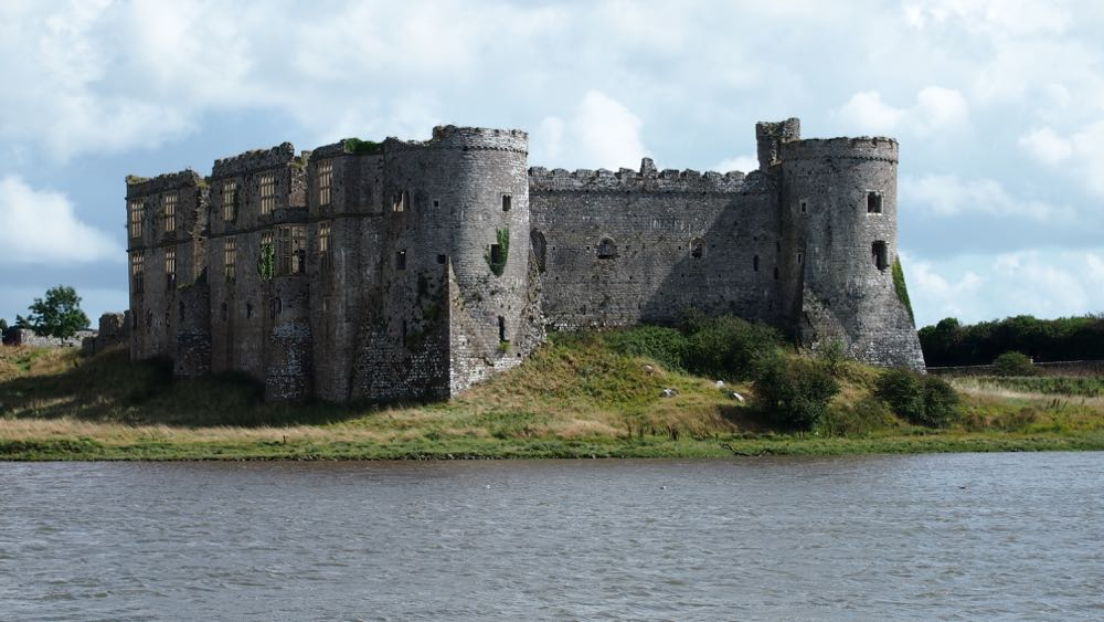 Carew Castle Panorama