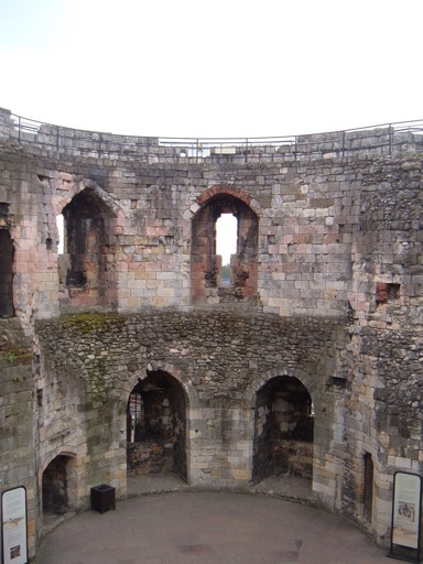 Castles in York: Inside Cliffords Tower