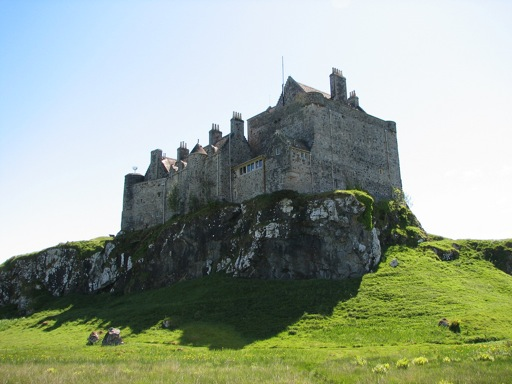 Duart Castle wide view