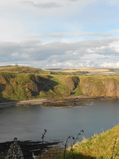 View from Dunnottar Castle