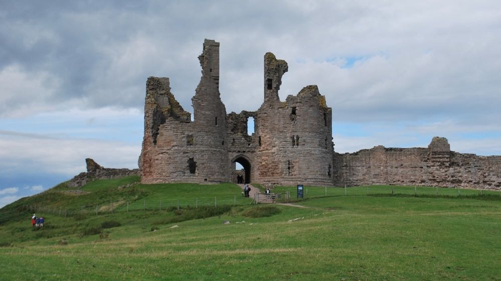 Dunstanburgh Castle Gatehouse