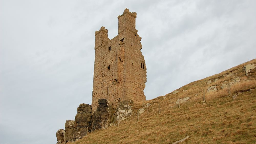 Lilburn Tower of Dunstanburgh Castle