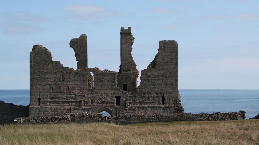 Reverse of the Dunstanburgh Castle gatehouse
