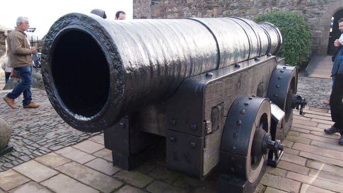 Mons Meg, Edinburgh Castle
