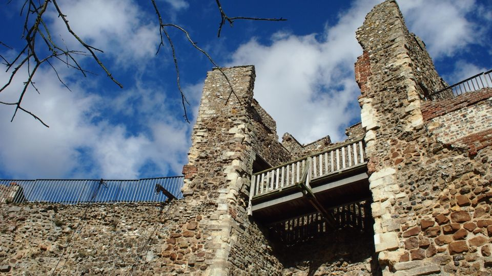 Framlingham Castle Wall Walk