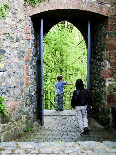 Castle Frankenstrin Exit