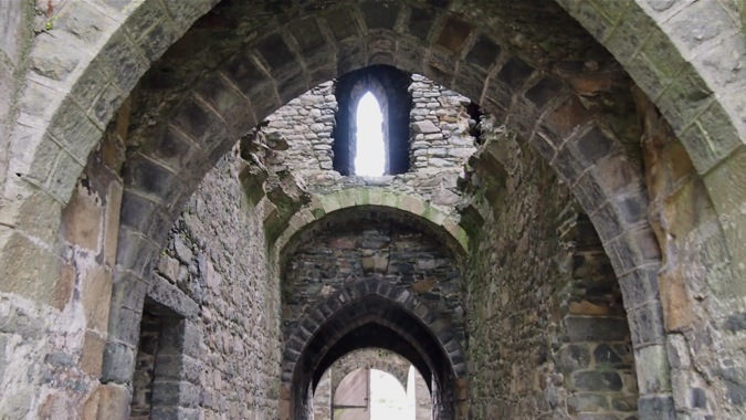Series of Arches in Harlech