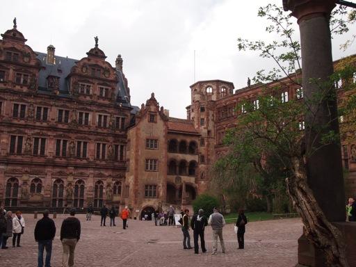Heidelberg Castle Courtyard
