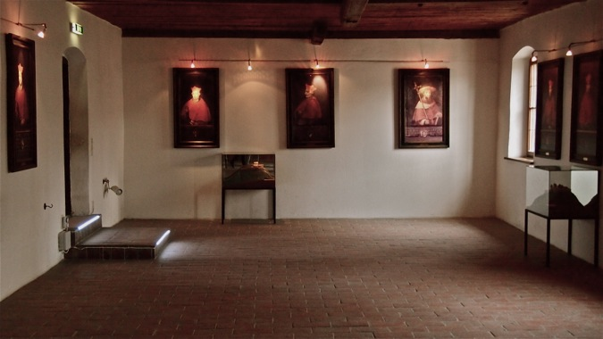 Hohenslazburg Castle Golden Hallway