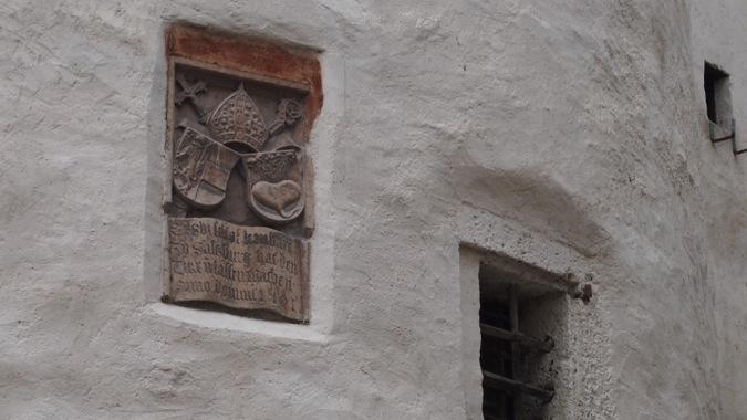 Shield of Salzburg Castle