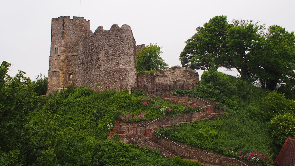 Stairs to the Lewes Castle Keep