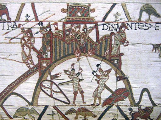 Motte and Bailey Bayeux Tapestry