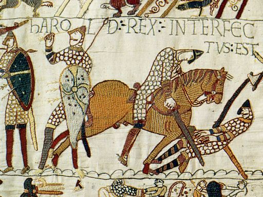 Bayeux Tapestry Harold Killed