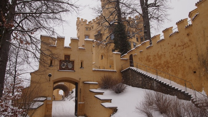 Gateway to Schloss Hohenschwangau