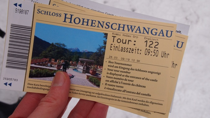 Hohenschwangau Castle tickets