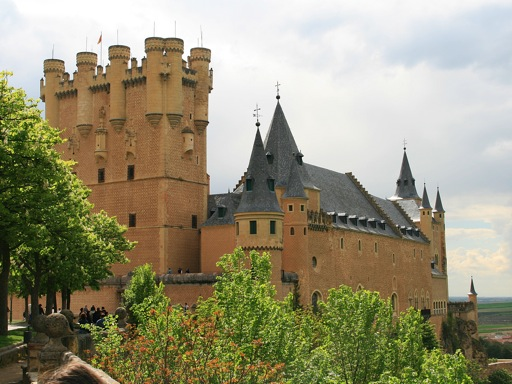 Tower of Juan II, Alcazar, Segovia